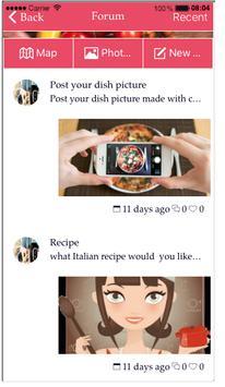 Italian Recipes Cuco & Cook-eo poster
