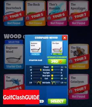 GUIDe for Golf Clash poster
