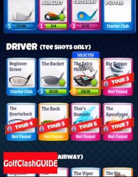 GUIDe for Golf Clash screenshot 2