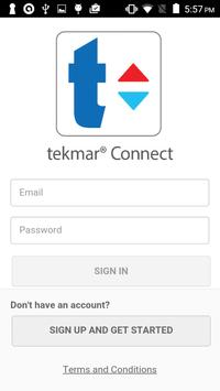 tekmar Connect poster
