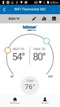 tekmar Connect screenshot 1