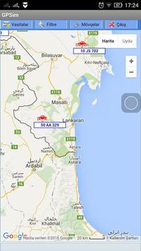 GPSim.az Araç Takip screenshot 1