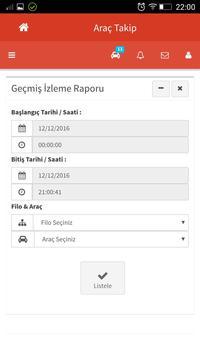 Yöntem izleme Arac Takip v2 apk screenshot