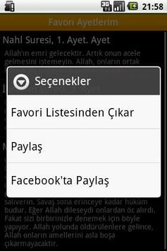 Kuranı Kerim Fihristi, Meali apk screenshot
