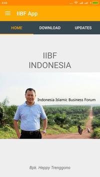 Indonesia Islamic Bisnis Forum poster