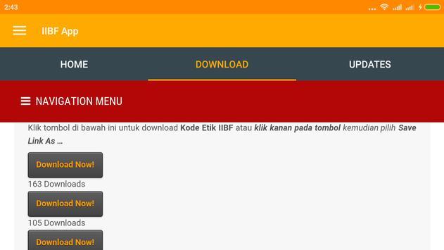 Indonesia Islamic Bisnis Forum apk screenshot