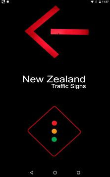 New Zealand Road Traffic Signs poster