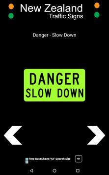 New Zealand Road Traffic Signs apk screenshot
