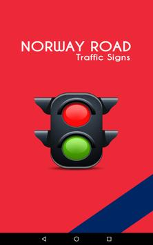 Norway Road Traffic Signs poster