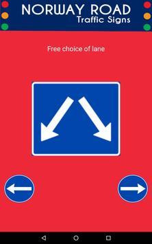 Norway Road Traffic Signs screenshot 2