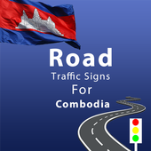 Combodia Road Traffic Signs icon