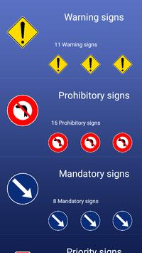 Combodia Road Traffic Signs apk screenshot
