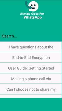Ultimate Guide For Whatsapp screenshot 1