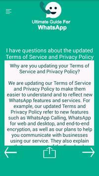 Ultimate Guide For Whatsapp screenshot 3