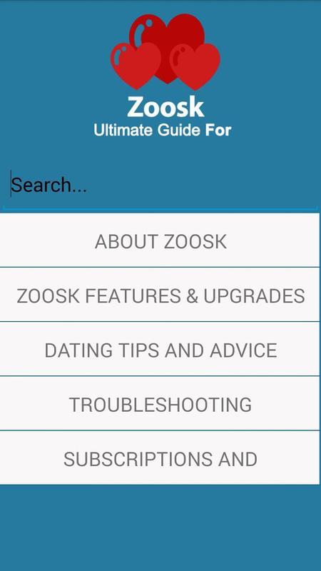 Zoosk online dating tips