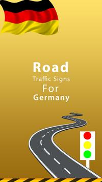 Germany Road Traffic Signs poster