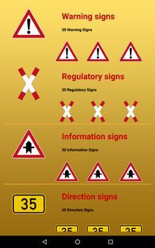 Germany Road Traffic Signs apk screenshot