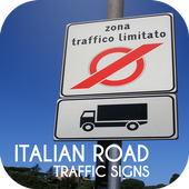 Italy Road Traffic Signs icon