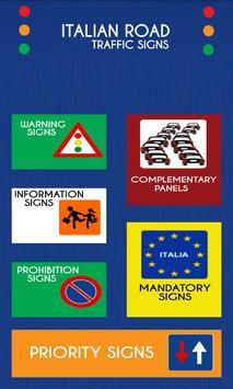 Italy Road Traffic Signs screenshot 1