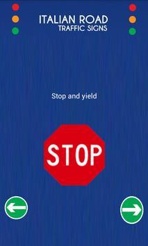 Italy Road Traffic Signs screenshot 2