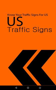 US Traffic Signs poster