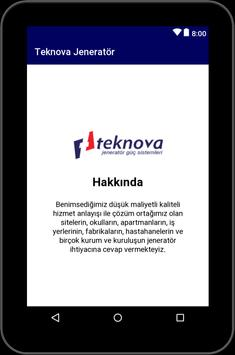 Teknova Jeneratör screenshot 5