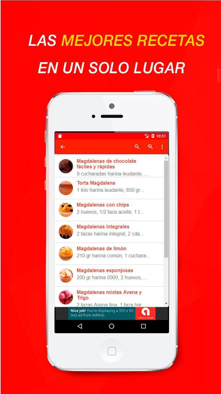 Recetas De Magdalenas For Android Apk Download