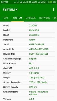 System X - Hardware & Software screenshot 1