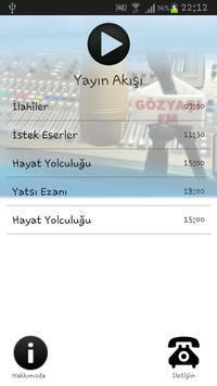 KONYA GÖZYAŞI FM TABLET screenshot 2
