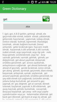 Turkish English Dictionary screenshot 6