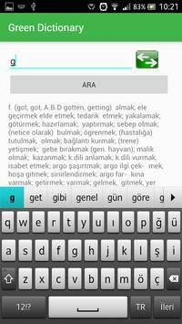 Turkish English Dictionary screenshot 7