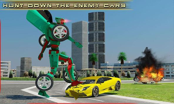 Car Robot Transformation poster