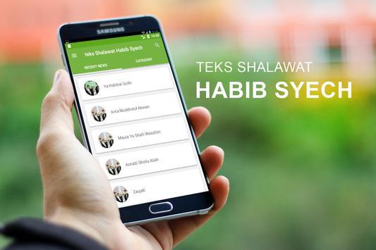 Teks Shalawat Habib Syech screenshot 1