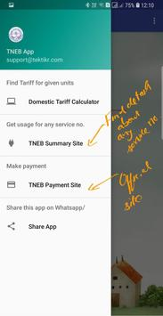 TNEB Tariff Calculator apk screenshot