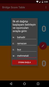 Briç Skor Tablosu screenshot 1