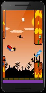 Flappy Superhero 💥 screenshot 7