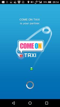 COME ON TAXI poster