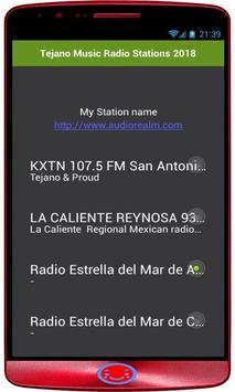 Tejano Music Radio Stations 2018 poster