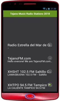 Tejano Music Radio Stations 2018 screenshot 1