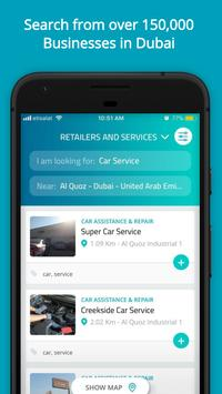 Walif – Search and Discover Businesses in Dubai poster
