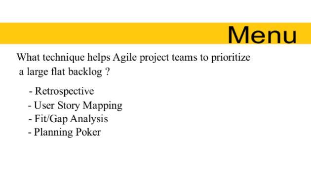 SAP Activate Free Quiz apk screenshot