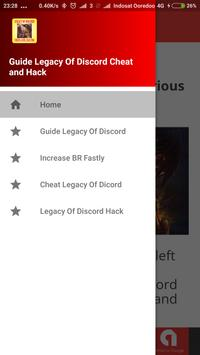 Latest Cheat Legacy Of Discord New Guide apk screenshot