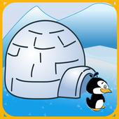 Penguin Fish Attack icon