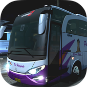 New Telolet Bus Driving 3D icon