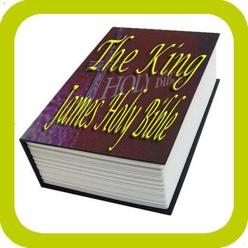 The King James Holy Bible poster