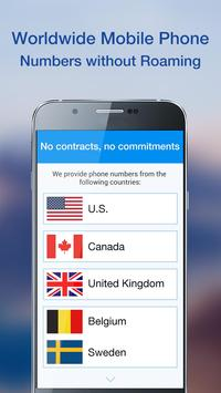 Telos Free Phone Number, Unlimited Calling & Text apk screenshot