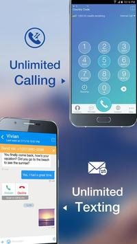 Telos Free Phone Number, Unlimited Calling & Text poster