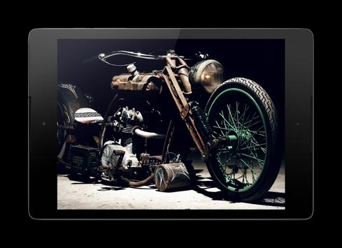 Bobber Motorcycle Lock Screen screenshot 10