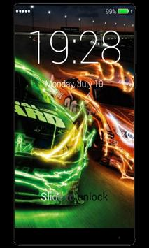 Street Racing Lock Screen apk screenshot