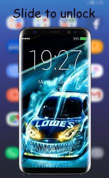 Street Racing Lock Screen poster
